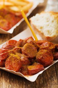 Leckere Currywurst
