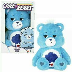 Care Bears Stuffed Animals, Big Stuffed Animal, Care Bear Tattoos, Grumpy Care Bear, Care Bear Party, Care Bears Plush, Cute Plush, Bear Toy, Funny Art