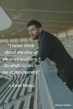 Best Lionel Messi Quotes on life, overnight success, football, sports, and dreams. The greatest player of the football Lionel Mess. Inspirational Football Quotes, Powerful Motivational Quotes, Motivational Quotes For Students, Soccer Quotes, Lionel Messi Quotes, Ronaldo Quotes, Quotes Thoughts, Life Quotes, Qoutes