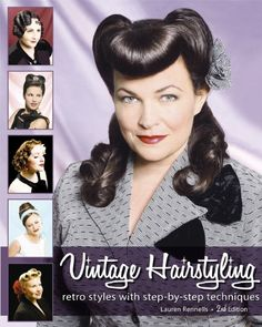 Vintage Hairstyling: Retro Styles with Step-by-Step Techniques:Amazon:Books