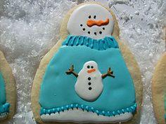 Snowman sweater!