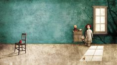 Gabriel Pacheco, an illustrator with a Surrealist style Illustration Courses, Children's Book Illustration, Book Illustrations, Gabriel Pacheco, Akira, Mexican Artists, Miguel Angel, Art Academy, Cool Posters