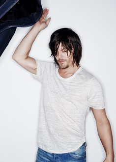 Norman Reedus photographed by Michael Williams for Imagista
