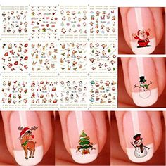 Get some great ideas for your christmas nails this holiday! Nail art includes frozen Olaf, reindeers, snowflakes, penguins, and more nail art!