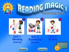 READING MAGIC-Learning to Read Through Advanced Phonics Games by PRESCHOOL UNIVERSITY