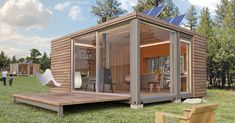 SMALL MODULAR HOMES | ... modular homes and shipping container homes with a detail for comfort (Rendering View)