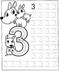 New System-Suitable Numbers Line Study - Preschool Children Akctivitiys Preschool Writing, Numbers Preschool, Preschool Printables, Preschool Lessons, Preschool Learning, Teaching, Kindergarten Math Worksheets, Preschool Activities, Math For Kids