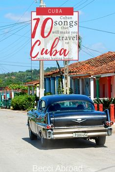 10 Cuban songs that will make you travel to Cuba (without leaving home) - Becci Abroad Group Travel, Family Travel, Amazing Destinations, Travel Destinations, Visit Cuba, Leaving Home, Cuba Travel, Beautiful Islands, Latin America