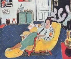 Matisse. Chevron rug.