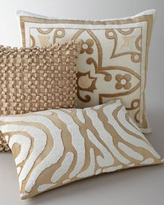 Shop luxury pillows and throw pillows at Horchow. Browse our luxurious selection of decorative and throw pillows in a variety of sizes and styles. Custom Pillows, Decorative Pillows, Decorative Items, Accent Pillows, Bed Pillows, Fluffy Pillows, Toss Pillows, Golden Pillow, Blue And White Pillows