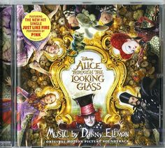 ALICE THROUGH TH LOOKING GLASS  D. ELFMAN O.S.T. CD NUOVO http://ebay.eu/25yqYDg