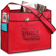 The ultimate choice for your imprinted trade show bag!