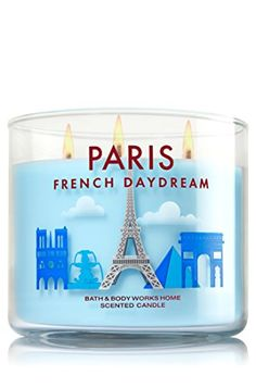 1 X Bath and Body Works - 3 Wick Candle Paris Daydream 14.5 Oz With Decorative Lid Bath & Body Works http://www.amazon.com/dp/B00ICD99X6/ref=cm_sw_r_pi_dp_0aH3wb0AKGHGA