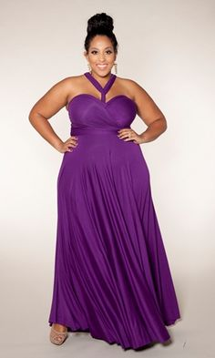 Emejing Purple Plus Size Maxi Dress Contemporary - Mikejaninesmith ...