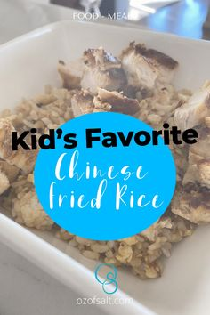 Try these Kid's Favorite Chinese Fried Rice that is perfect for breakfast. If there are picky eaters in your household, this dish is perfect for you! They are so easy to make them taste so good! Check out the easy Chinese fried rice recipe at #ozofsalt #chinesefriedrice #kidsfavorite #easyrecipe Easy Holiday Recipes, Healthy Dinner Recipes, Delicious Recipes, Yummy Food, Easy One Pot Meals, Easy Family Meals, Kids Meals, Easy Chinese Fried Rice Recipe, Beef Fried Rice