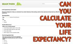Online calculator to figure out your life expectancy?