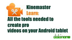 This is the Kinemaster ver2.0 tutuorial, if you are looking for the latest version of the Kinemaster app tutorial click on this link: https://youtu.be/ibiJrvcvXg8  No matter which version of the app you have, it is a fully featured elearning tool and should be on every Android device in a BYOD classroom.