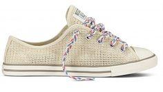 Converse Chucks Low Dainty Turnschuhe Sneaker 543531C Beige Weiß 2014
