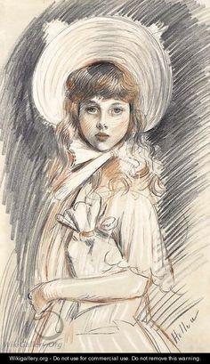 Mademoiselle Dauriac - Paul Cesar Helleu