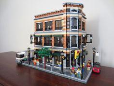 Barnes & Noble / Starbucks by wooootles, via Flickr #LEGO Lego lego