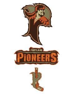 PORTLAND PIONEERS ICEHL by BURZUM on DeviantArt