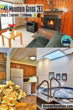 Book this Vacation rental condominium. Located in Killington, VT United States Green Resort, Stones Throw, Ski Slopes, Vacation Memories, Sports Shops, Condominium, Jacuzzi, Vermont, Spa