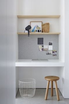 un due tre ilaria: 7 INSPIRATIONS FOR A MINIMAL WORKSPACE IN A NOOK