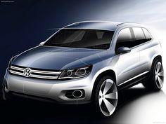 Automotive Design | VW Tiguan facelift 2012 Sketches (by VW Design...