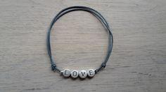 #slogan #love #bracelet