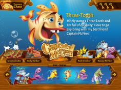 The Legend of Captain McFinn iOS iPad Set off on an underwater adventure with Captain McFinn and Friends! This colorful, innovative app features 4 dynamic games that are fun, interactive and great for pre-readers and early readers alike. 122MB http://softwarelint.com/