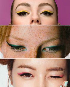 Delineador colorido || Colored eyeliner