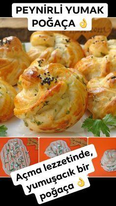A a Tad nda yumu ac k bir po a a ekli sunumu bi Harika a ma a matarifi po a a po a atarifleri po a atarifi yemeknet yemek yemektarifleri sa l k rg diki yemektarifleri Pogaca Recipe, Feta Dip, Wine Country Gift Baskets, Soup With Ground Beef, Spinach Pie, Cheese Rolling, One Pot Pasta, Homemade Breakfast, Pastry Recipes