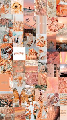 Peach Collage - by Lisa-Chanté