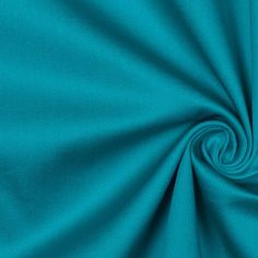 Peacock Blue Stretch Cotton Sateen Fabric by the Yard | Mood Fabrics
