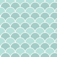 Seaside Scallops contact paper / shelf liner. This scallop pattern features medium and light shades of turquoise blue and white.