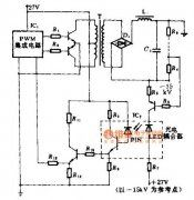 Audio amplifier circuit with IC STK0039 good quality