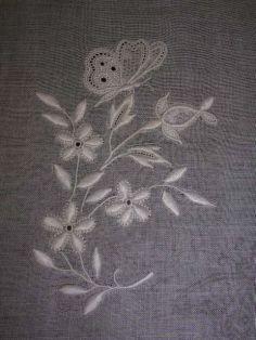 Los placeres bordados - bordado Turena - balada bordados refinados - Pañuelos - UN POCO ... - Ariane Blog