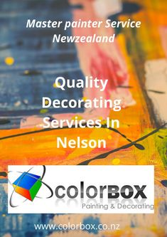 Color Box deliver high-quality painting services in Nelson with specialist skills. If you are looking professional painters for interior & exterior painting then contact us now. Visit our website for more details