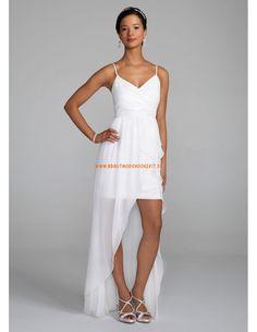 V-neck Billiges Brautkleider 2014 aus Chiffon