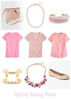 I have forever and always loved pink ~ makes my wardrobe totally in season every time it comes back around =) How to Wear Pink this Spring | MomTrends
