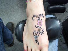 Tribal Vines Tattoo