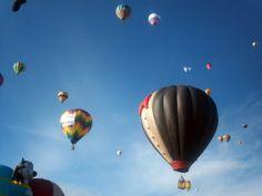 El día de ayer inició el Festival Internacional del Globo en León.  FOTO: Notimex