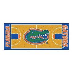 "Florida Gators Basketball Court Runner Area Rug Floor Mat  - 30"" X 72"""