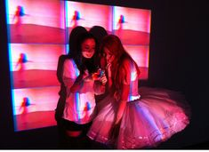 Find images and videos about f(x) and krystal on We Heart It - the app to get lost in what you love. Krystal Jung, Jessica & Krystal, Fx Pink Tape, Tape Art, Rave Festival, Festival Fashion, Sulli, Asia Girl, Girls Generation