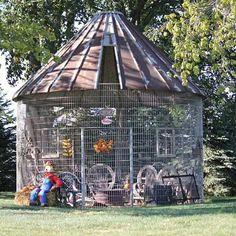 Old Corn Crib Silo Turned Into A Gazebo My Home In 2019