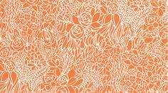 Stained Glass Stella-4 Orange