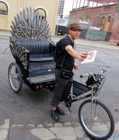 iron throne pedicabs