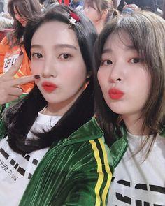 Joy and Seulgi Red Velvet Joy, Red Velvet Seulgi, South Korean Girls, Korean Girl Groups, Asian Boys, Irene, Seulgi Instagram, Joy Instagram, Coral Cake