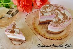 Raw Neapolitan Cheesecake, Blogaversary and a Giveaway! | Fragrant Vanilla Cake