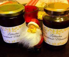 Rezept Lebkuchen Sauerkirsch Marmelade von luna2012 - Rezept der Kategorie Saucen/Dips/Brotaufstriche